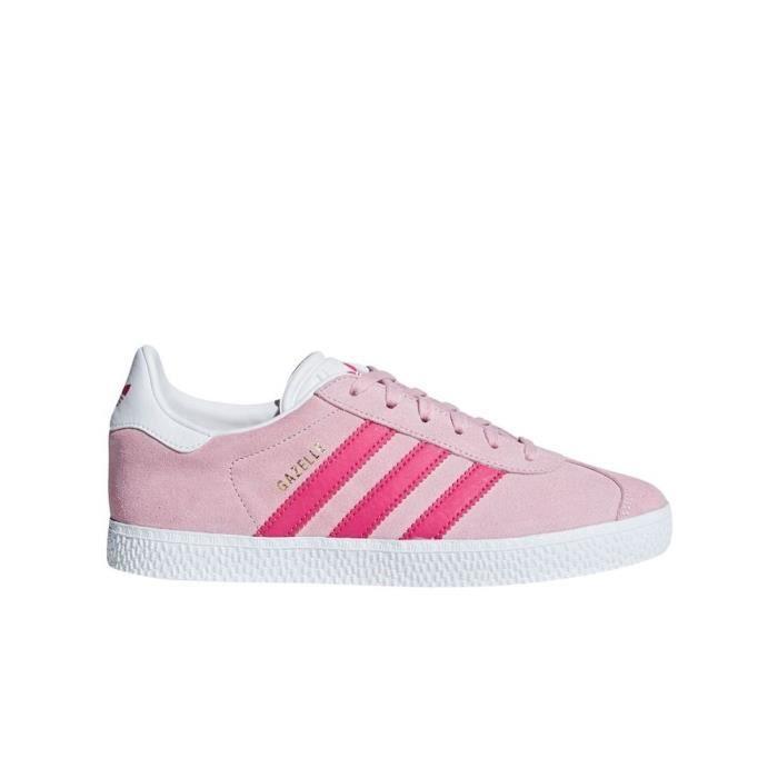 Él Loza de barro Anormal  Chaussures Adidas Gazelle J Rose - Achat / Vente basket - Cdiscount