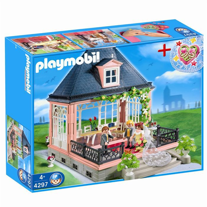 Playmobil salle des mariages achat vente univers for Salle a manger playmobil city life