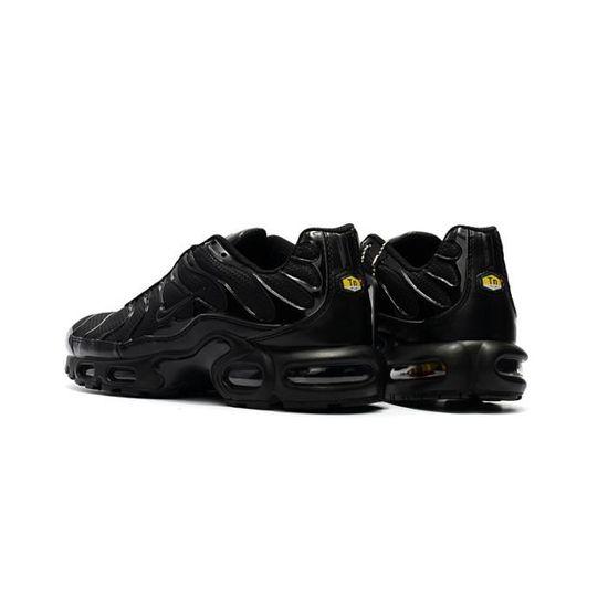 NIKE Basket Homme Air Max TN - Cuir - Noir Noir - Cdiscount Chaussures