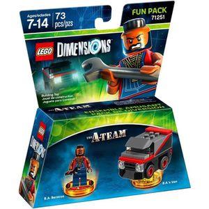 FIGURINE DE JEU LEGO Dimensions - Pack Héros - A-Team