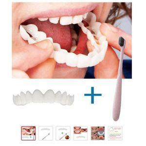 BROSSE A DENTS Dentier De Remplacement Avec Brosse à Dents