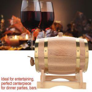 CITERNE - CUVE - FUT - JERRYCAN Tonneau à vin 5 L en bois de chêne vintage pour bi
