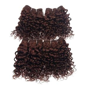PERRUQUE - POSTICHE OMGA Tissage BouclE Des Cheveux BrEsiliens Vierges
