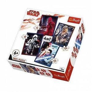 PUZZLE Puzzle Star Wars 4 en 1 | 2 x 104 - 54 - 80 Pièces