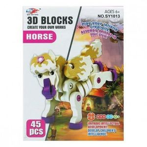 PUZZLE Puzzle 3D Cheval 113298 (45 Pcs)