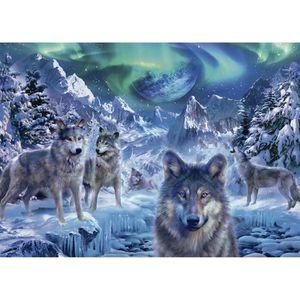 PUZZLE JUMBO Puzzle 500 - Loups en hiver