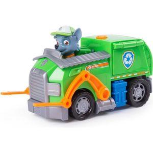 FIGURINE - PERSONNAGE Figurine PAT PATROUILLE Camion de Recyclage de Roc