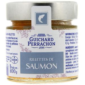 PATÉ - TERRINE GUICHARD PERRACHON Rillette de saumon - 100 g