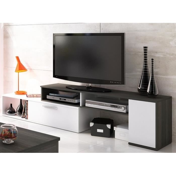 winn meuble tv extensible 170 250 cm achat vente. Black Bedroom Furniture Sets. Home Design Ideas