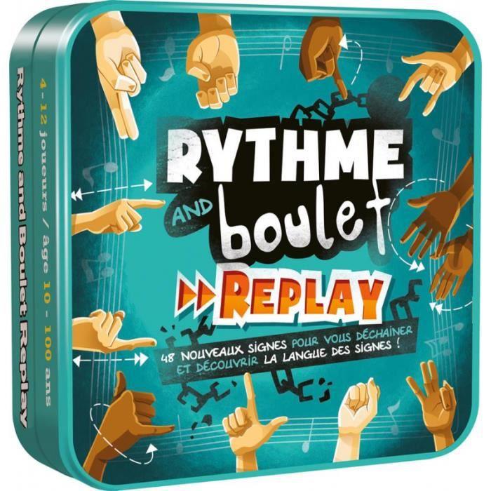 Jeux de société famille - Jeu de société - Rythme and Boulet : Replay