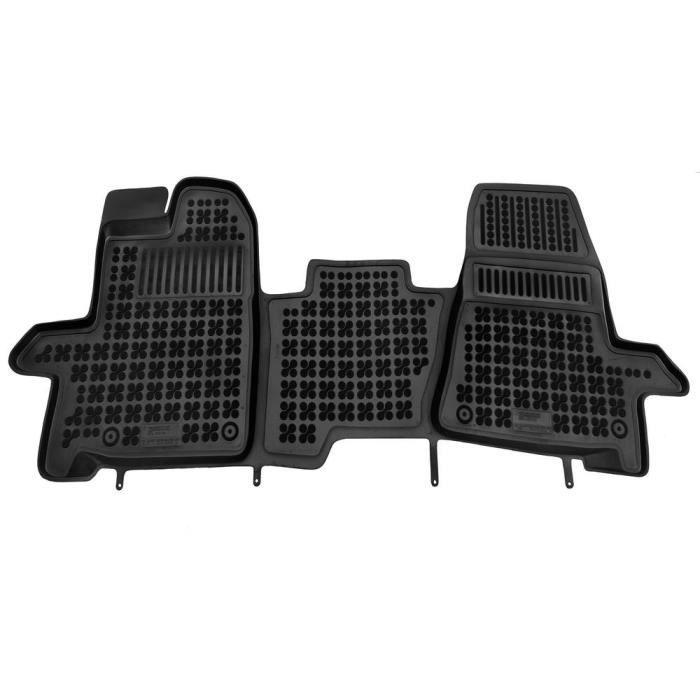 Tapis de sol 3D Ford Transit Custom depuis 2013 3-places