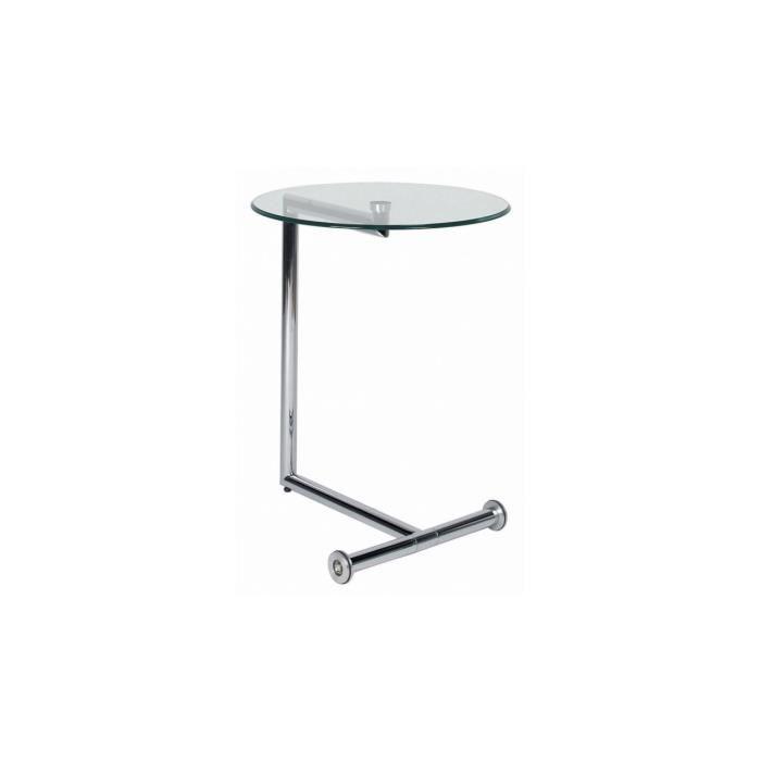Table d appoint Easy Living Transparente Kare Design