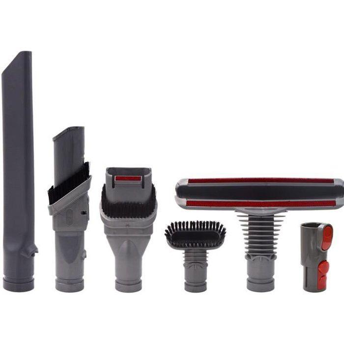 Brosse Kit Accessoires pour Dyson V8 V7 Aspirateur avec Adaptateur,Total Clean Pièces pour Dyson V6 DC45 DC35 DC52 DC29 DC62 DC33