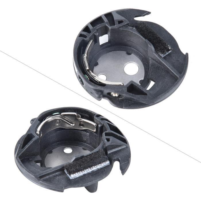 Dioche coque de navette Boîtier de canette 2 pièces XC3153051 pour accessoires de machine à coudre domestique Brother