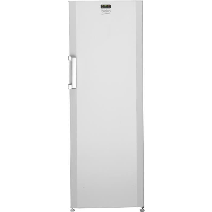 BEKO FS127320 - Congélateur armoire 237L - Froid statique - A+ - L59,5 x H 171cm - Blanc