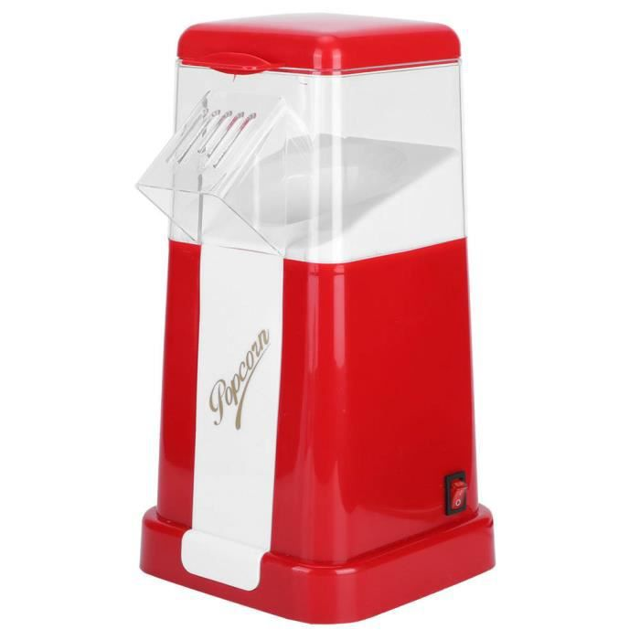 HURRISE Articles ménagers Électrique automatique Popcorn Machine Mini Portable Popcorn Maker Ménage Popper de maïs pour la