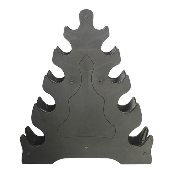 Support de rangement d'haltères Stand 5 Tier Fitness Dumbbell Rack Portable Dumbbell Porte-support