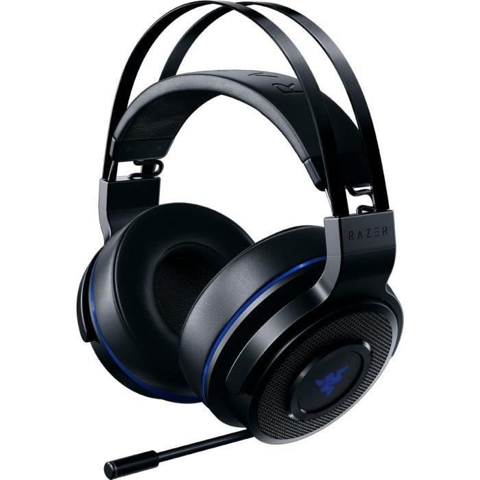 Casque Thresher Razer pour Ps4 Bleu et noir