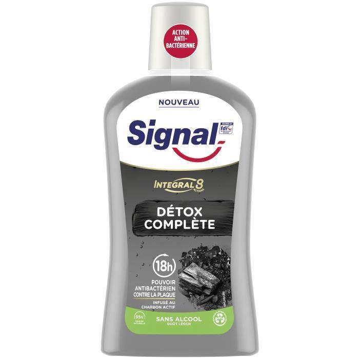 SIGNAL Bain de bouche Intégral 8 Detox Complète - 500 ml