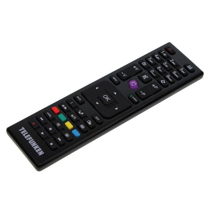 Télécommande d'origine Telefunken 23255985,RC4875 pour D32H553N4 LCD-TV