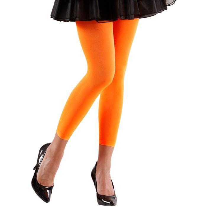 Legging orange - Adulte Multicolor