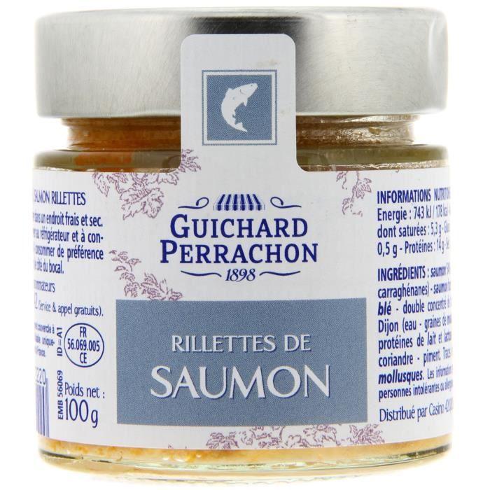 GUICHARD PERRACHON Rillette de saumon - 100 g