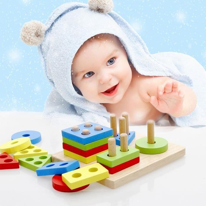 ASSEMBLAGE CONSTRUCTION Blocs de Construction Bébé Enfant Jouet Éducatif e