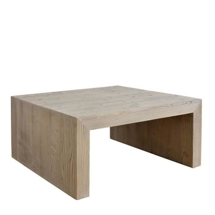 Table basse stockolm en bois massif pin achat vente table basse table b - Table basse en pin massif ...