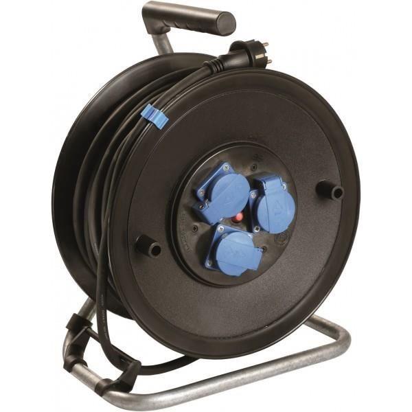 Kopp 153710009 C/âble dalimentation H05 VV-F 3G Noir 1,5 mm/² 10 m
