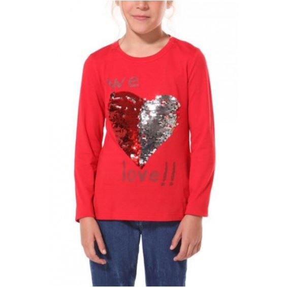 desigual tee shirt fille abril r rouge achat vente t shirt cdiscount. Black Bedroom Furniture Sets. Home Design Ideas