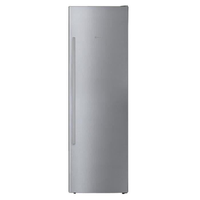 CONGÉLATEUR PORTE Congélateur armoire 60cm 242l nofrost a++ inox - G