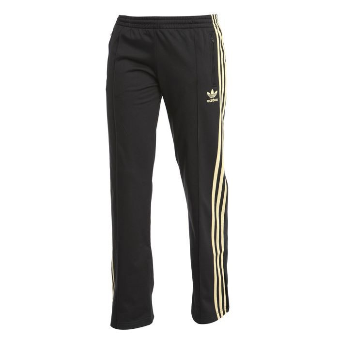 adidas originals pantalon firebird femme noir et or achat vente pantalon de sport cdiscount. Black Bedroom Furniture Sets. Home Design Ideas