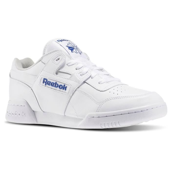 REEBOK WORKOUT PLUS BLANCHE