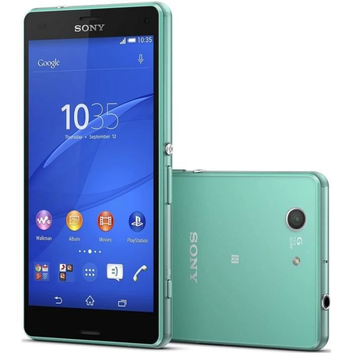 sony xperia z3 compact d5803 4g smartphone 4 6 pouces. Black Bedroom Furniture Sets. Home Design Ideas