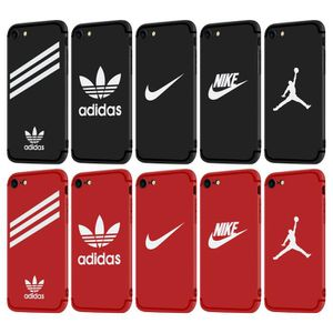 coque iphone 7 jordan rouge