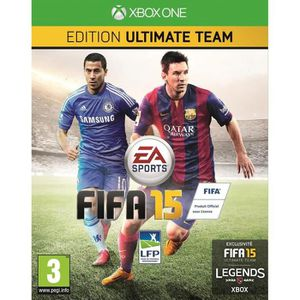 JEU XBOX ONE FIFA 15 Edition Ultimate Team Jeu XBOX One