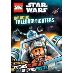 LIVRE LOISIRS CRÉATIFS Lego Star Wars. Combats rebelles