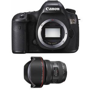 PACK APPAREIL RÉFLEX Canon EOS 5DS + EF 11-24mm f/4L USM