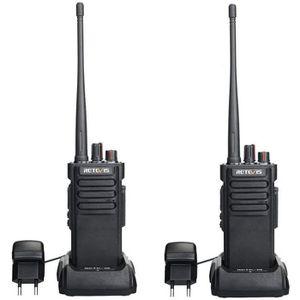 TALKIE-WALKIE Retevis RT29 Talkie Walkie Longue Portée Batterie