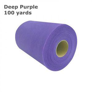 BANDEROLE - BANNIÈRE Version Deep Purple - Rouleau De Tulle   15 Cm * 1