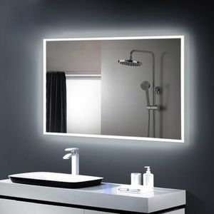 miroir de salle de bain led achat vente miroir de. Black Bedroom Furniture Sets. Home Design Ideas
