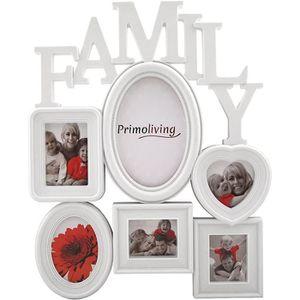 CADRE PHOTO PrimoLiving Family Galerie Photos avec Coeur pour