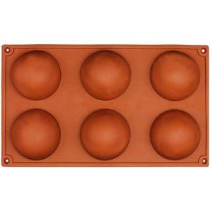 MOULE  LR 6 Petit Demi-Spheres Moule En Silicone, Plat A