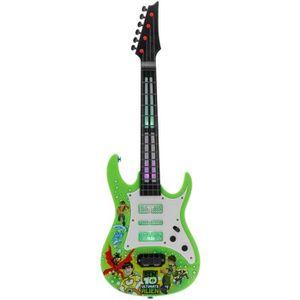 GUITARE SUPER Guitare Electrique Enfant 4 Cordes Jouet Edu