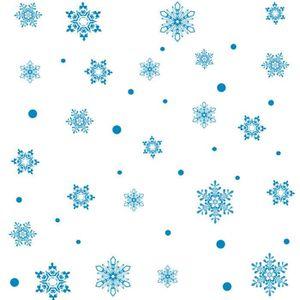 STICKERS DE NOËL 1pcs Sticker noel pour fenetre flocon de neige, Fi