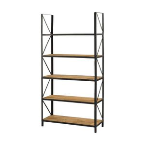 etagere bois metal achat vente pas cher. Black Bedroom Furniture Sets. Home Design Ideas