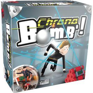 JEU SOCIÉTÉ - PLATEAU CHRONO BOMB - 41299- Un jeu plein de suspense!