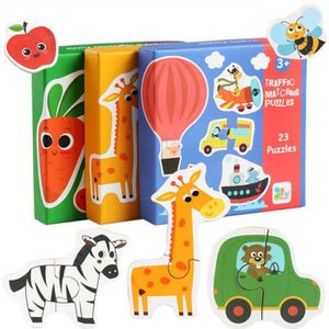 PUZZLE Puzzle Enfant en Bois 69PCS