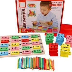 CUBE ÉVEIL Jouet en bois bébé Domino Block Montessori Jouets