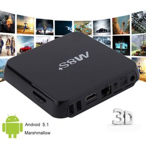 BOX MULTIMEDIA TV Box [2 Go + 8 Go] Boîtier TV 4K Android 5.1 Sma